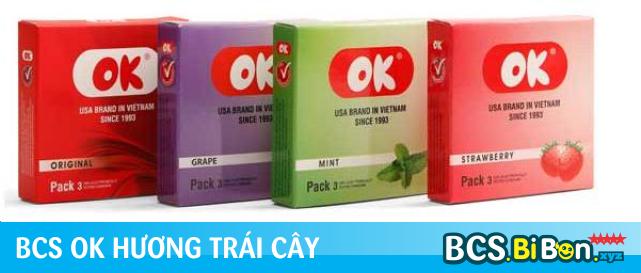 BAO CAO SU OK HƯƠNG TRÁI CÂY