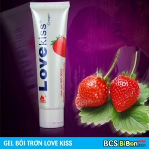 Gel bôi trơn Love Kiss Hương Dâu
